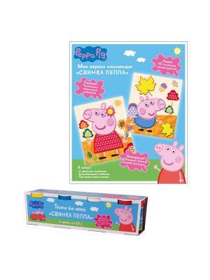 Набор для творчества Свинка Пеппа Peppa Pig. Цвет: голубой, розовый