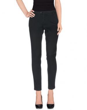 Повседневные брюки BONHEUR. Цвет: стальной серый