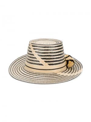 Шляпа Aliana Yosuzi. Цвет: телесный