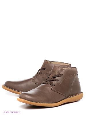 Ботинки Ridlstep. Цвет: коричневый