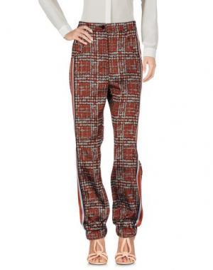 Повседневные брюки OSTWALD HELGASON. Цвет: красный