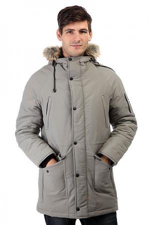 Куртка парка  Alaska Light Grey Anteater. Цвет: серый