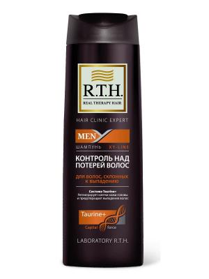 Шампунь R.T.H. MEN Контроль над потерей волос RTH. Цвет: коричневый