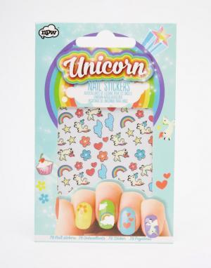 Beauty Extras Наклейки для ногтей Unicorn. Цвет: бесцветный