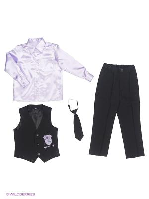 Комплект одежды Милашка Сьюзи. Цвет: розовый, черный