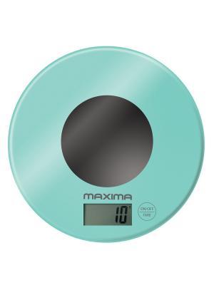Весы кухонные  MAXIMA МS-067 (Мтный). Цвет: бирзовый