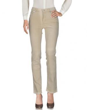 Повседневные брюки KRIZIA JEANS. Цвет: бежевый