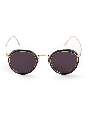 Солнцезащитные очки Model 717 Eyevan7285. Цвет: чёрный