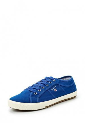 Кеды Gant. Цвет: синий