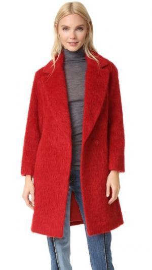 Пальто Edition10. Цвет: ярко-красный