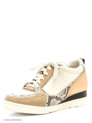 Ботинки Daze. Цвет: белый, кремовый