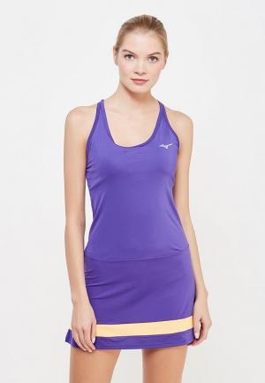 Платье Mizuno. Цвет: фиолетовый