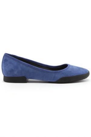 Туфли CAMPER. Цвет: синий