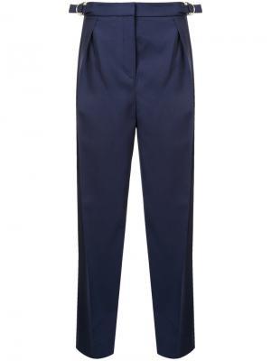 Укороченные брюки свободного кроя Roksanda. Цвет: синий