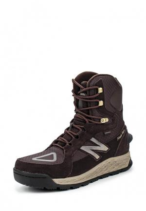 Ботинки New Balance. Цвет: коричневый