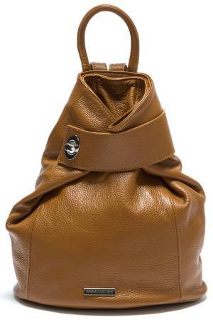 Рюкзак ANNA LUCHINI. Цвет: коричневый
