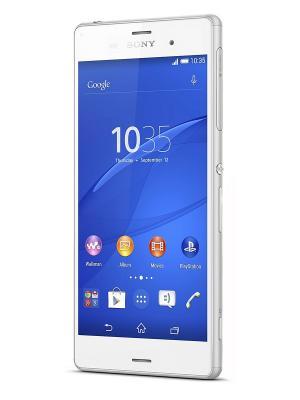 Смартфон Sony D6603 Xperia Z3 белый 4G. Цвет: белый