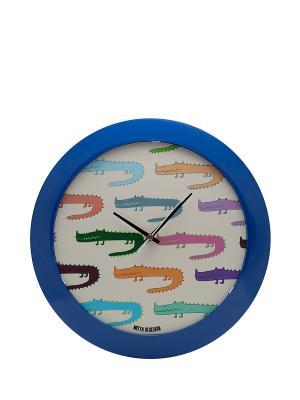 Часы настенные Mitya Veselkov. Цвет: синий