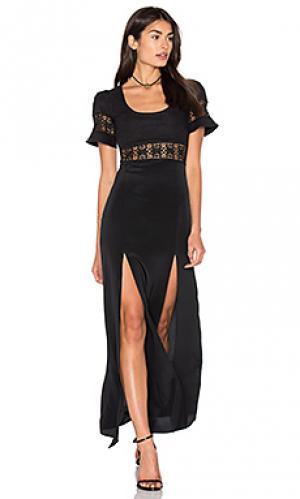 Вечернее платье seymour STONE_COLD_FOX. Цвет: черный