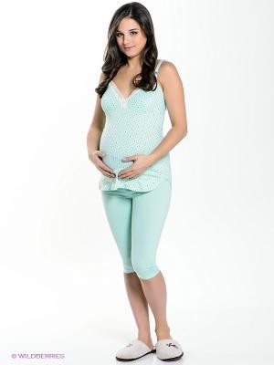 Пижама Hunny Mammy. Цвет: светло-зеленый
