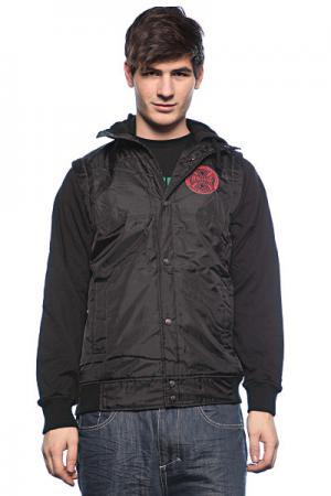 Ветровка мужская  Chance Quilted Vest Black Independent. Цвет: черный