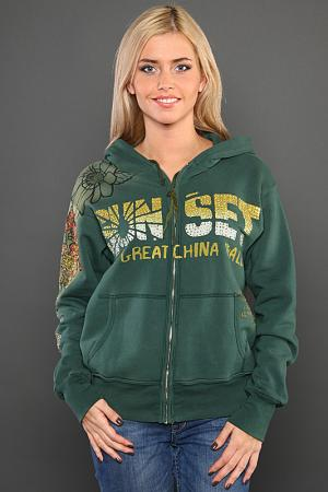 Кардиган The Great China Wall. Цвет: зеленый