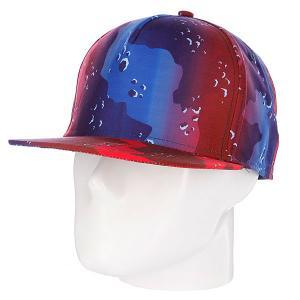 Бейсболка  Dipmo Red/Black/White Neff. Цвет: красный,синий,черный