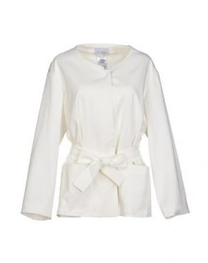 Пиджак PAOLO ERRICO. Цвет: белый