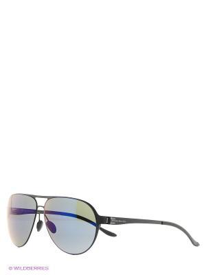Солнцезащитные очки Mercedes Benz. Цвет: черный