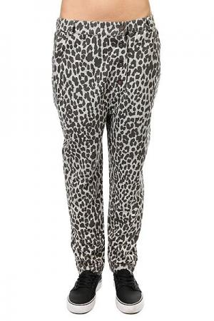 Штаны прямые женские  Overlap Pant Grey Melange Leo Colour Wear. Цвет: серый