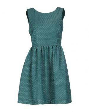 Короткое платье MACRÍ. Цвет: зеленый