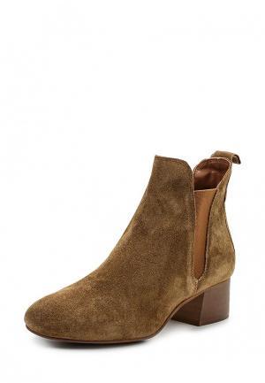 Ботинки Topshop. Цвет: коричневый