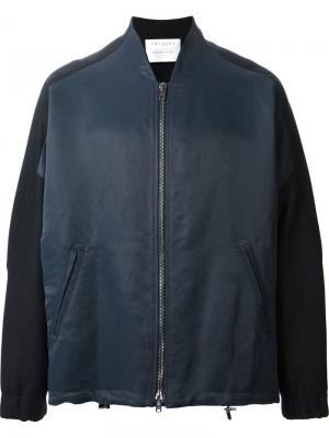 Куртка-бомбер Volume Ubi Sunt. Цвет: синий