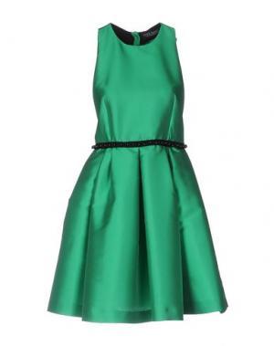 Короткое платье NORA BARTH. Цвет: зеленый