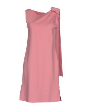 Короткое платье CARLA G.. Цвет: розовый