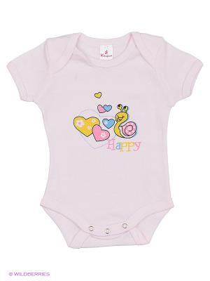 Пижама ясельная MP0101 04 цвет розовый, улитка Квирит. Цвет: розовый