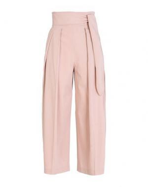 Повседневные брюки EDUN. Цвет: телесный