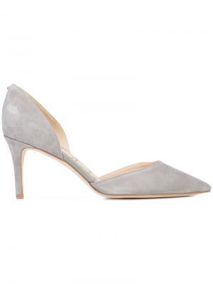 Туфли с вырезанными боковинами Sam Edelman. Цвет: серый