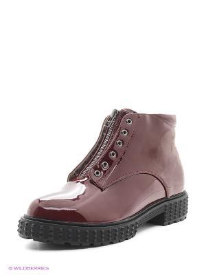 Ботинки Spur. Цвет: бордовый