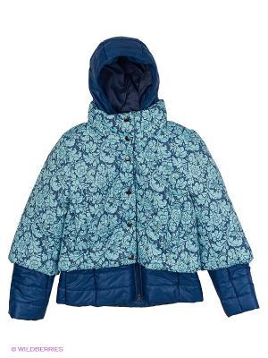Куртка двойная MARIELA. Цвет: синий