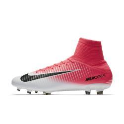 Футбольные бутсы для игры на твердом грунте  Mercurial Veloce III Dynamic Fit Nike. Цвет: розовый