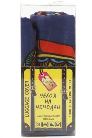 Чехол на чемодан SOVA COVER. Цвет: матрешки