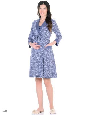 Комплект одежды EUROMAMA. Цвет: темно-синий