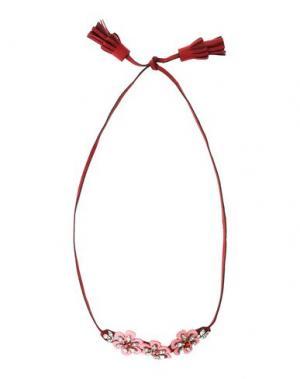 Ожерелье SHOUROUK. Цвет: красно-коричневый