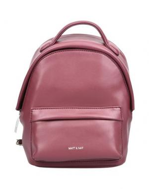 Рюкзаки и сумки на пояс MATT & NAT. Цвет: пурпурный