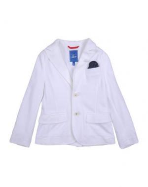 Пиджак FAY JUNIOR. Цвет: белый
