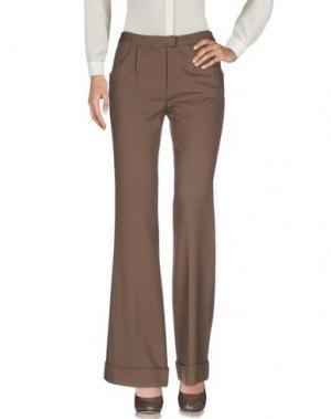 Повседневные брюки GAETANO NAVARRA. Цвет: хаки