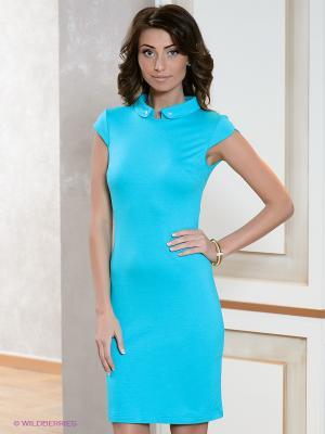 Платье V&V. Цвет: бирюзовый