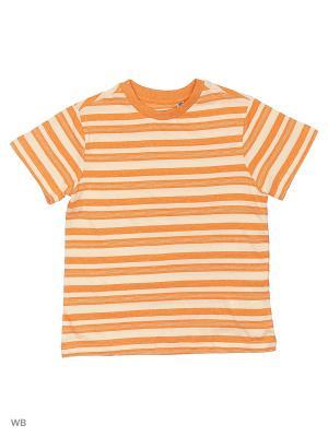 Футболка SELA. Цвет: светло-оранжевый