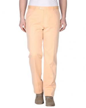 Повседневные брюки PAL ZILERI CONCEPT. Цвет: лососево-розовый